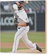 New York Mets V San Diego Padres Wood Print