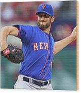 New York Mets V St. Louis Cardinals Wood Print