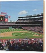 New York Mets V. Washington Nationals Wood Print
