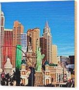 New York Nevada Wood Print