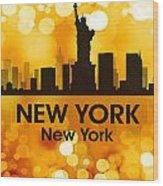 New York Ny 3 Wood Print