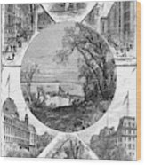 New York Saratoga, 1874 Wood Print