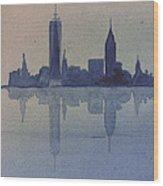 New York Skyline  Wood Print