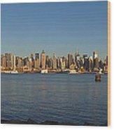 New York - Skyline Of New York Wood Print