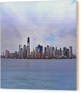 New York - Standing Tall Wood Print by Bill Cannon