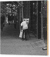 New York Street Photography 26 Wood Print