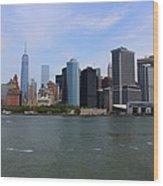 New York Strong Wood Print