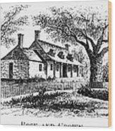 New York: Tavern, C1776 Wood Print
