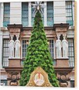 New York Tree Wood Print