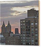New York Twin Peaks West Side Wood Print