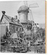 New York Windmill, C1905 Wood Print