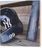 New York Yankees v Baltimore Orioles Wood Print