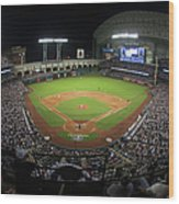 New York Yankees V Houston Astros Wood Print