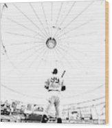 New York Yankees v Tampa Bay Rays Wood Print
