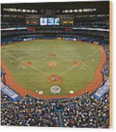 New York Yankees V. Toronto Blue Jays Wood Print