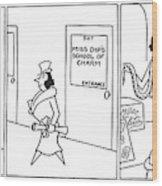 New Yorker April 18th, 1942 Wood Print