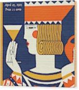 New Yorker April 25th, 1925 Wood Print