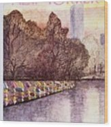 New Yorker April 25th 1977 Wood Print
