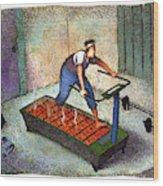 New Yorker April 25th, 1994 Wood Print