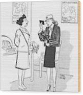 New Yorker April 29th, 1944 Wood Print