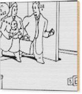 New Yorker April 5th, 1999 Wood Print
