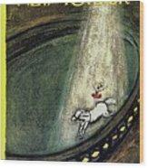 New Yorker April 7th 1962 Wood Print