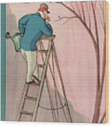 New Yorker April 9th, 1927 Wood Print