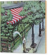 New Yorker August 27th, 1955 Wood Print