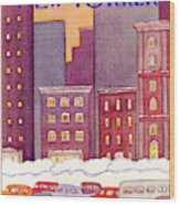 New Yorker December 13th, 1982 Wood Print