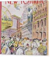 New Yorker December 13th, 1993 Wood Print