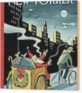 New Yorker December 15, 2008 Wood Print