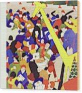 New Yorker December 17 1927 Wood Print