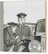 New Yorker December 20th, 1958 Wood Print