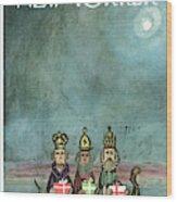 New Yorker December 21st, 1968 Wood Print