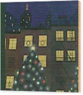New Yorker December 24th, 1938 Wood Print