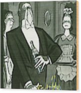 New Yorker December 25th, 1948 Wood Print