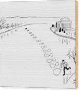 New Yorker December 30th, 1944 Wood Print