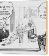 New Yorker December 30th, 1985 Wood Print