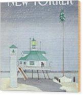 New Yorker December 3rd, 1984 Wood Print
