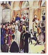 New Yorker December 4 1937 Wood Print