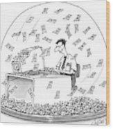 New Yorker December 6th, 1999 Wood Print