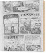 New Yorker December 7th, 1998 Wood Print