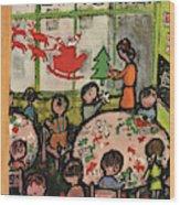 New Yorker December 8th, 1951 Wood Print by Abe Birnbaum