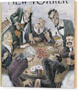 New Yorker February 12th, 1996 Wood Print