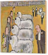 New Yorker February 14th, 1948 Wood Print