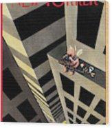 New Yorker February 15th, 1999 Wood Print