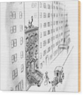 New Yorker February 17th, 1940 Wood Print
