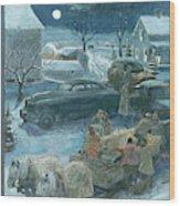 New Yorker February 19th, 1949 Wood Print