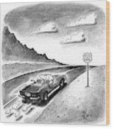 New Yorker February 23rd, 1998 Wood Print