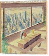 New Yorker February 2nd, 1998 Wood Print